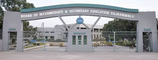 Check online BISE Gujranwala 10th Class Date Sheet 2020
