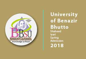 University of Benazir Bhutto Shaheed lyari Spring Admission