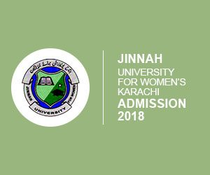 Admission Form Jinnah University For Women 2018