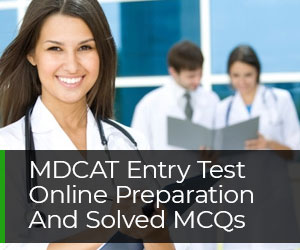 MDCAT Entry Test Online Preparation And Solved MCQs