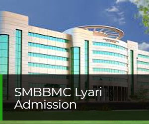 Shaheed Mohtarma Benazir Bhutto Medical College Lyari Admission 2020